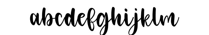 SophiaAndAntony Font LOWERCASE