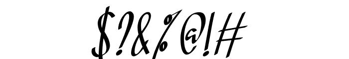 Soul Sistar Italic Font OTHER CHARS