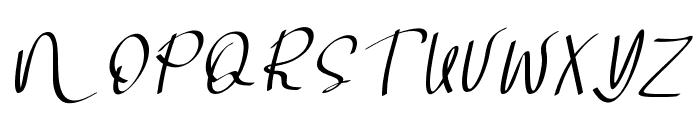 Soul Sistar Italic Font UPPERCASE