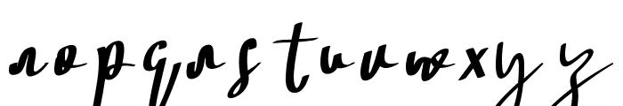 Soul Sistar Italic Font LOWERCASE