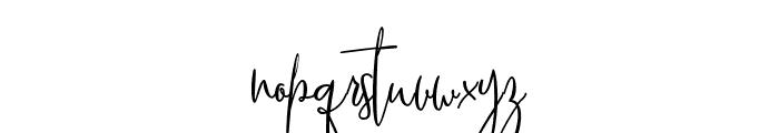 SoulSilver Font LOWERCASE