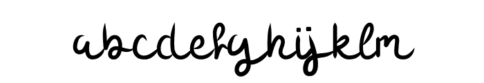 Sour Blueberry Font LOWERCASE