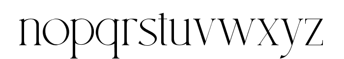 South Amsterdam Font LOWERCASE