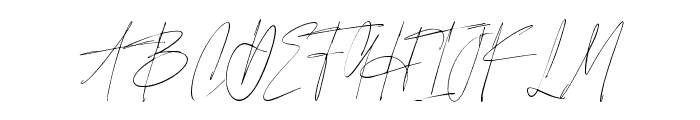 SouthAmsterdamHandwritten Font UPPERCASE