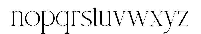 SouthAmsterdam Font LOWERCASE