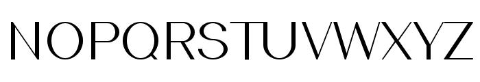 Southern Carolina sans Regular Font UPPERCASE