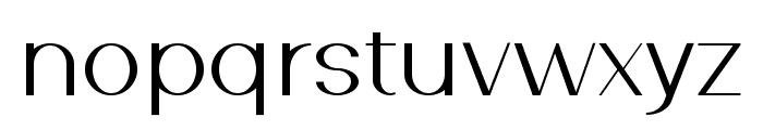 Southern Carolina sans Regular Font LOWERCASE