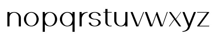 SouthernCarolinasans-Regular Font LOWERCASE