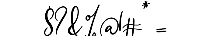 Southfall Bold Font OTHER CHARS