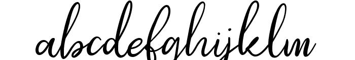Southfall Bold Font LOWERCASE