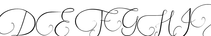 Southfall Light Font UPPERCASE