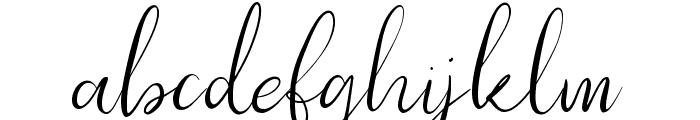 Southfall Light Font LOWERCASE