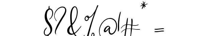 Southfall Font OTHER CHARS