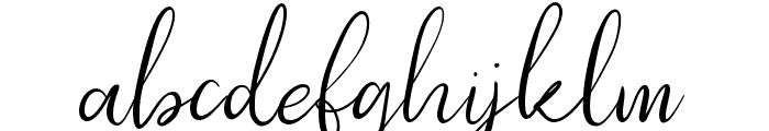 Southfall Font LOWERCASE
