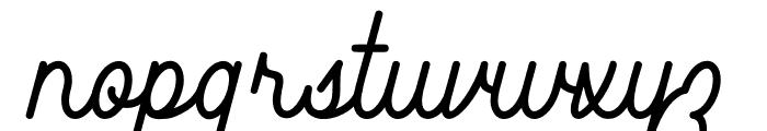 Southfilla Font LOWERCASE
