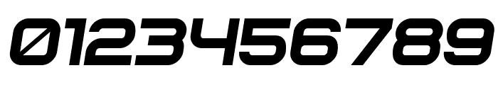 Soviet Program Italic Font OTHER CHARS