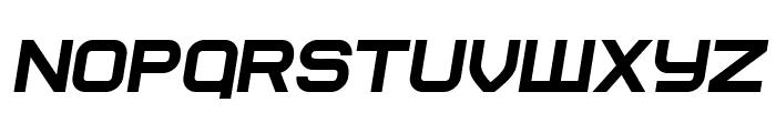 Soviet Program Italic Font UPPERCASE