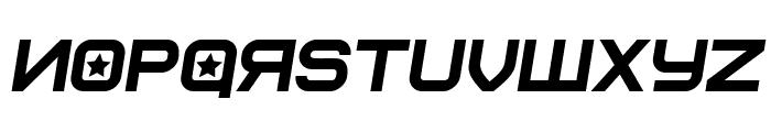 Soviet Program Italic Font LOWERCASE