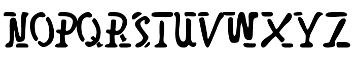 SpaceBro Font UPPERCASE