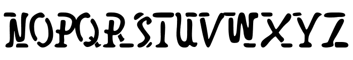 SpaceBro Font LOWERCASE