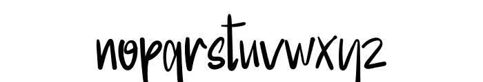 Special Designer Font LOWERCASE