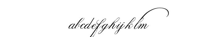 SpencerianPalmerPenmanshipPRO Font LOWERCASE
