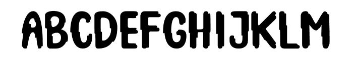 Spooky Booah Font UPPERCASE