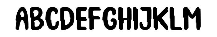 Spooky Booah Font LOWERCASE
