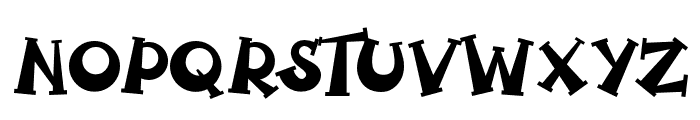 Spooky Pumpkin regular Regular Font UPPERCASE