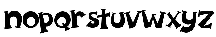 Spooky Pumpkin regular Regular Font LOWERCASE