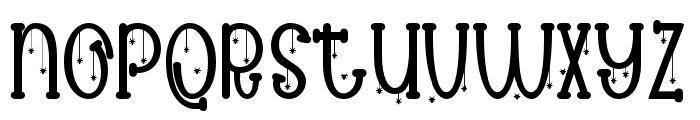 Spooky cute 02 Regular Font LOWERCASE