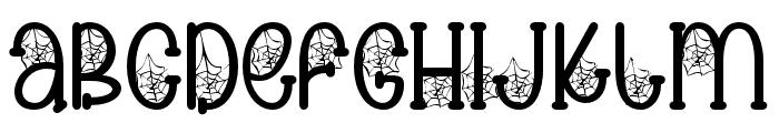 Spooky cute03 Regular Font LOWERCASE