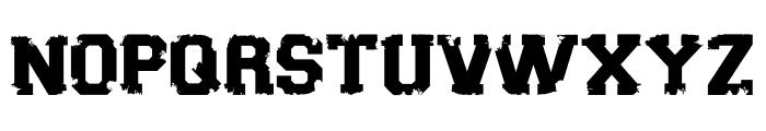 Sport Torn Font UPPERCASE