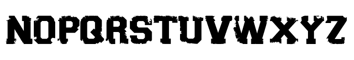 Sport Torn Font LOWERCASE