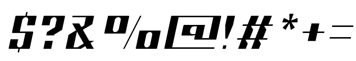 Sportage-ExtraLightItalic Font OTHER CHARS