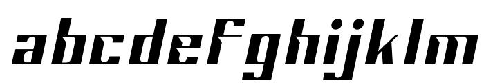 Sportage-ExtraLightItalic Font LOWERCASE
