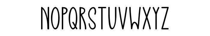 Spread Joy Font UPPERCASE