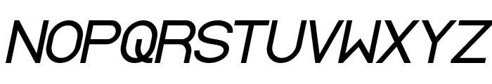 Standard International Bold Italic Font UPPERCASE