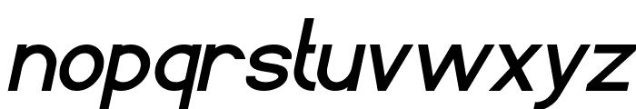 Standard International Bold Italic Font LOWERCASE