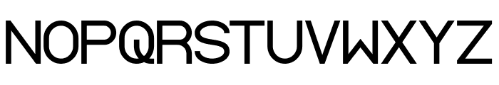 Standard International Bold Font UPPERCASE