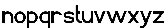 Standard International Bold Font LOWERCASE