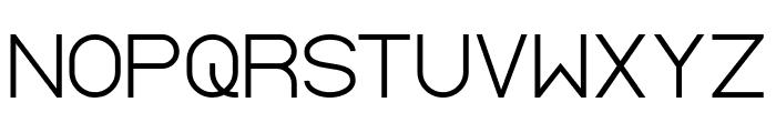 Standard International-Light Font UPPERCASE