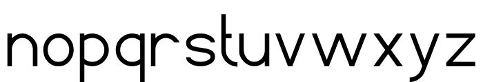 Standard International-Light Font LOWERCASE