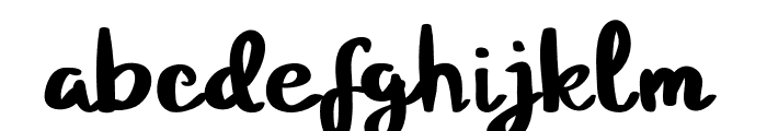 Standbyme Font LOWERCASE