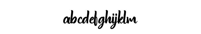 Standgrow Font LOWERCASE
