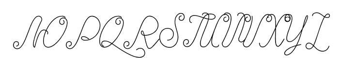 Starheart Font UPPERCASE