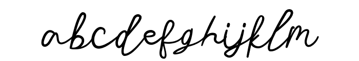 Stars in the sky Font LOWERCASE