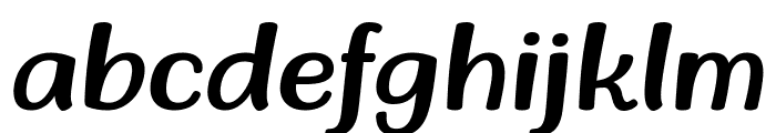 Stay Calm & Keep Growing Italic Font LOWERCASE