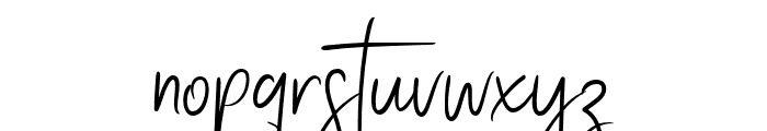Stay Classy Stylish Font LOWERCASE