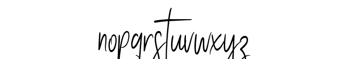 Stay Classy Font LOWERCASE